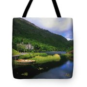 Kylemore Abbey, Co Galway, Ireland Tote Bag by The Irish Image Collection