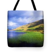 Kylemore Lake, Co Galway, Ireland Lake Tote Bag by The Irish Image Collection