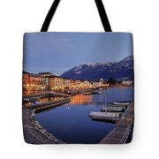 Lake Maggiore - Ascona Tote Bag by Joana Kruse