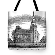 New Jersey: Church, 1844 Tote Bag by Granger