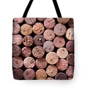Red Wine Corks Tote Bag by Frank Tschakert
