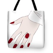 Ring Finger Tote Bag by Frank Tschakert