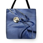 Stethoscope Tote Bag by Photo Researchers, Inc.