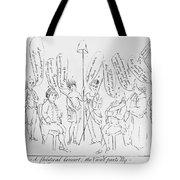 `treaty Of Paris, 1783 Tote Bag by Granger