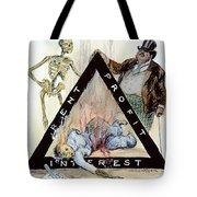 Triangle Factory Fire Tote Bag by Granger