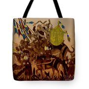 Turkish Muslims The Crusades Tote Bag by Photo Researchers