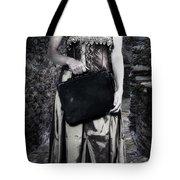 Woman In Alley Tote Bag by Joana Kruse