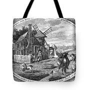 Poor Richard Illustrated Tote Bag by Granger