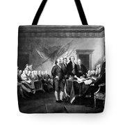 Declaration Of Independence Tote Bag by Granger