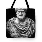 ARISTOTLE (384-322 B.C.) Tote Bag by Granger