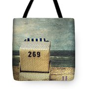 Beach Chair Tote Bag by Joana Kruse