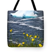 Melting Iceberg Tote Bag by Elena Elisseeva