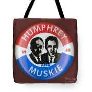 Presidential Campaign, 1968 Tote Bag by Granger
