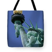 Statue Of Liberty Tote Bag by Ron Watts