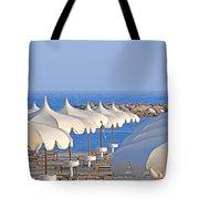 Umbrellas In The Sun Tote Bag by Joana Kruse