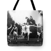 Silent Film Still: Sports Tote Bag by Granger
