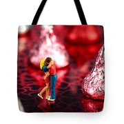 The Lovers In Valentine's Day Tote Bag by Paul Ge