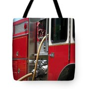 Barnett Fire Tote Bag by Henrik Lehnerer