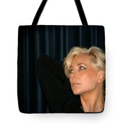 Blond Woman Tote Bag by Henrik Lehnerer