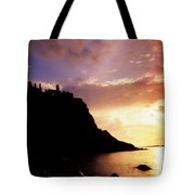 Dunluce Castle, Co Antrim, Ireland Tote Bag by The Irish Image Collection