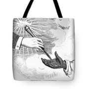 Election Cartoon, 1876 Tote Bag by Granger