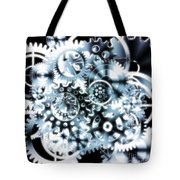 Gears Wheels Design  Tote Bag by Setsiri Silapasuwanchai