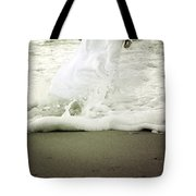 girl at the sea Tote Bag by Joana Kruse