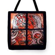 Jesus - Tile Tote Bag by Gloria Ssali