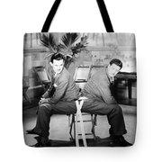 SILENT STILL: TWO MEN Tote Bag by Granger