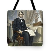 Abraham Lincoln Tote Bag by Granger