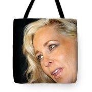 Blond Woman Tote Bag by Henrik Lehnerer