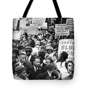 MARTIN LUTHER KING, JR Tote Bag by Granger