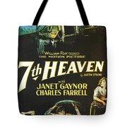 7th Heaven Tote Bag by Georgia Fowler