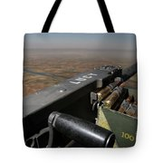 A .50 Caliber Machine Gun Points Tote Bag by Stocktrek Images