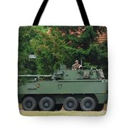A Belgian Army Piranha IIic Tote Bag by Luc De Jaeger