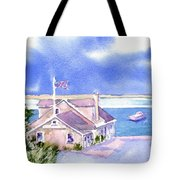 A Chatham Fish Market Tote Bag by Joseph Gallant