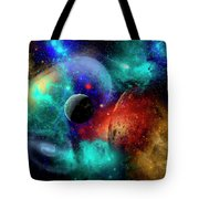 A Colorful Part Of Our Galaxy Tote Bag by Mark Stevenson