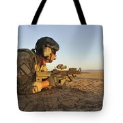 A Combat Rescue Officer Provides Tote Bag by Stocktrek Images