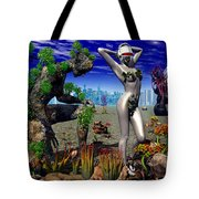 A Conceptual Idea Showing Nature Tote Bag by Mark Stevenson