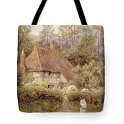 A Cottage Near Haslemere Tote Bag by Helen Allingham