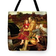 A Dream of the Past Tote Bag by Sir John Everett Millais