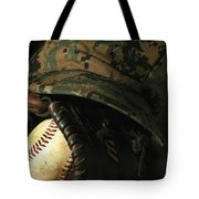 A Marines Athletic Gear Tote Bag by Stocktrek Images