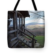 A Mountain View Tote Bag by Robert Margetts