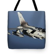 A Panavia Tornado Gr4 Of The Royal Air Tote Bag by Gert Kromhout