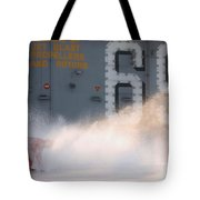 A Sailor Collects Samples Of Aqueous Tote Bag by Stocktrek Images