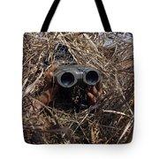 A Scout Observer Practices Observation Tote Bag by Stocktrek Images
