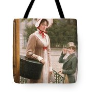 A Source of Admiration Tote Bag by Edmund Blair Leighton