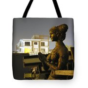 A Trashed Sculpture Tote Bag by Sumit Mehndiratta
