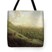 A View Of Boxhill - Surrey Tote Bag by George Lambert