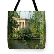 A View of the Parthenon 1 Tote Bag by Douglas Barnett